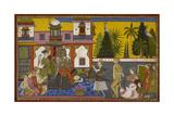Hanuman Brought Before Ravana