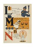 Alphabet Page: Little Boy Blue Miss Mary Nan Etticote