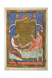 A Paralytic Is Healed by Contact With One Of St Cuthbert's Shoes
