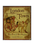 A Coach and Horses Illustration From London Town'