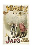 Novelty Theatre  Holborn a Jap's First Smoke  1885