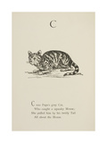 Cat Illustrations and Verses From Nonsense Alphabets Drawn and Written by Edward Lear