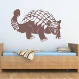 Ankylosaurus Brown Wall Decal