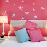 Stunning Starfish  Large Grey Wall Decal