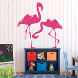 Flamingos Pink Wall Decal