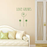 Love Grows Olive Wall Decal