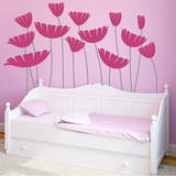 Honey  I Supersized the Flowers Pink Wall Decal