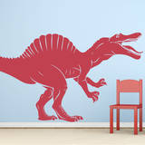 Spinosaurus Red Wall Decal