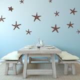 Stunning Starfish  Large Brown Wall Decal