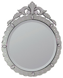 Ambrosi Venetian All Glass Mirror