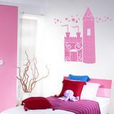 Princess Castle bubblegum Wall Decal