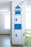 Find Your Way Home Lighthouse Azure Wall Decal