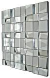 Quartz All Glass Dimensional Panel Mirror
