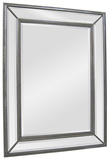 Phoebe Silver Rectangular Mirror