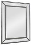 Phoebe Silver Rectangular Mirror