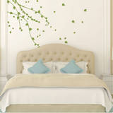 Climbing Ivy Vines Olive Wall Decal