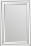 Brynn Step Frame All Glass Rectangular Mirror