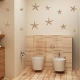 Stunning Starfish  Large Light Brown Wall Decal