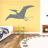 Pterodactyl Grey Wall Decal