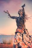 Reaching Skyward Sculpture