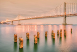 Night Glow at Bay Bridge