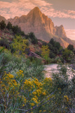 Days End from the Pa' Rus Trail  Zion