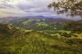 Blustery Afternoon Landscape  Mount Diablo