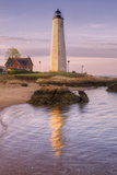 Morning Reflection at Five Mile Point Lighthouse