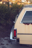 Yellow 1977 Chevy Impala Station Wagon