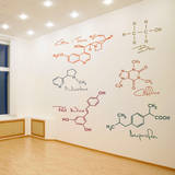 Party Molecules Wall Decal