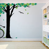 Maple Afternoon Green Wall Decal