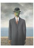 Le fils de l'homme, 1964 Reproduction d'art par Rene Magritte