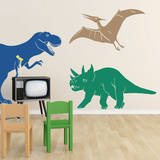 Medium Dinosaurs Blue Wall Decal