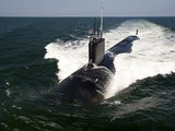 The Virginia-class Attack Submarine USS California