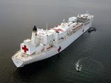 The Military Sealift Command Hospital Ship USNS Mercy