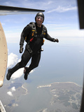 Member of the US Army Golden Knights Parachute Team