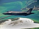 An F-35 Lightning II Flies Over Destin  Florida