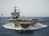 USS Enterprise Transits the Atlantic Ocean