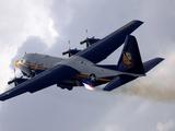 The US Marine Corps C-130 Hercules