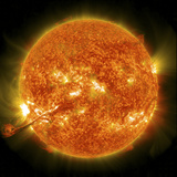 Magnificent Coronal Mass Ejection Erupts On the Sun