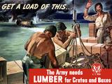 Digitally Restored War Propaganda Poster