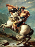 Digitally Restored Vector Painting of Napoleon Bonaparte On His Horse