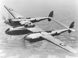 A Test Flight of the YP-38 Service Test Fighter Aircraft