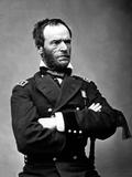 Digitally Restored Vector Portrait of General Sherman