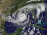 Satellite View of Tropical Storm Isaac in the Gulf of Mexico