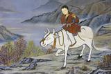 The Ten Ox Herding Pictures of Zen Buddhism Represent the Stages of Enlightement