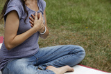 Meditation at Kundalini Yoga Festival