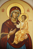 Icon in Mary Magdalene Russian Orthodox Church on Mount of Olives