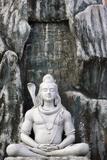 Shiva Statue in Lakshman Temple  Rishikesh