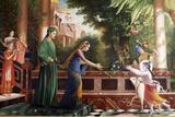 Painting at Bhaktivedanta